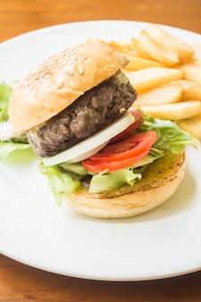 Beef hamburger