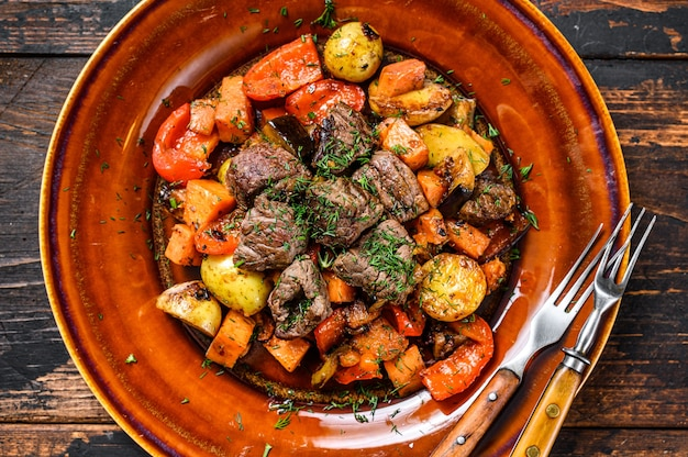 牛肉の野菜煮込み