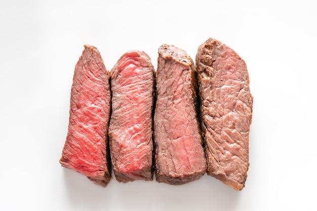 Стейк из говядины: степень прожарки от прожаренного до хорошо прожаренного