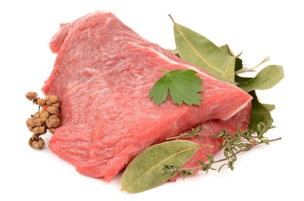 スパイス入り牛肉