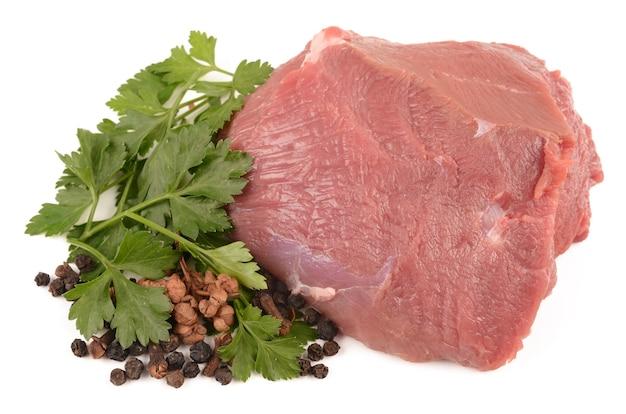향신료와 쇠고기