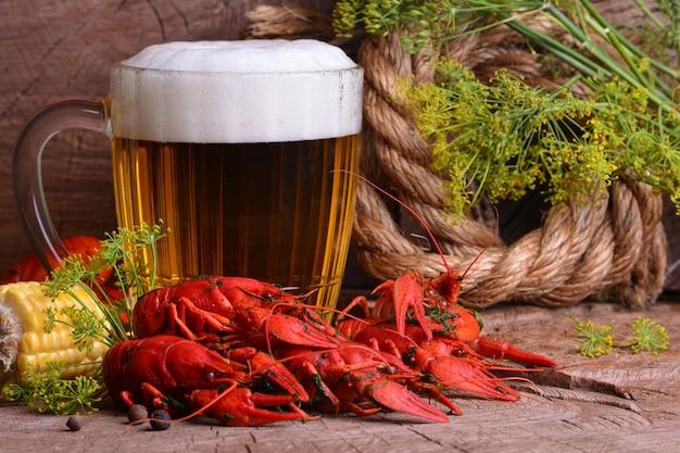 Пиво и раки