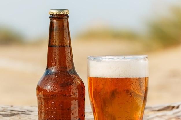 Beer on the beach