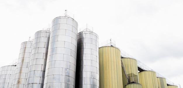 맥주 발효 탱크 또는 양조 공장