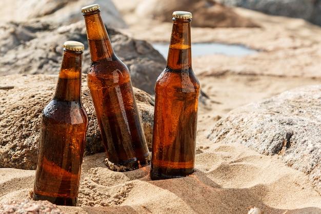 Пиво на пляже