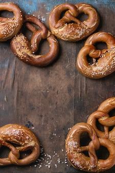 Beer snack pretzels
