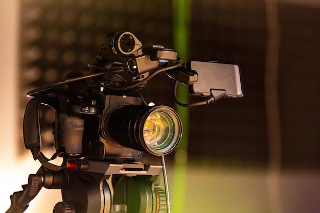 ビデオ制作やビデオ撮影の舞台裏