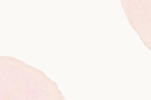 Бежевый фон обнаженных розовых пятен женского абстрактного искусства