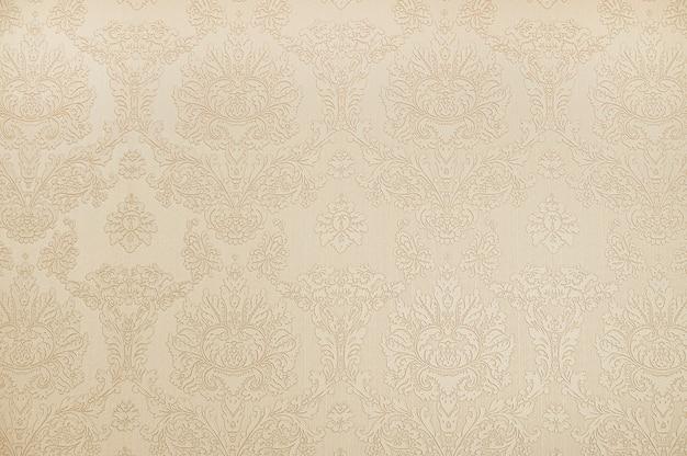 Beige botanical wallpaper background