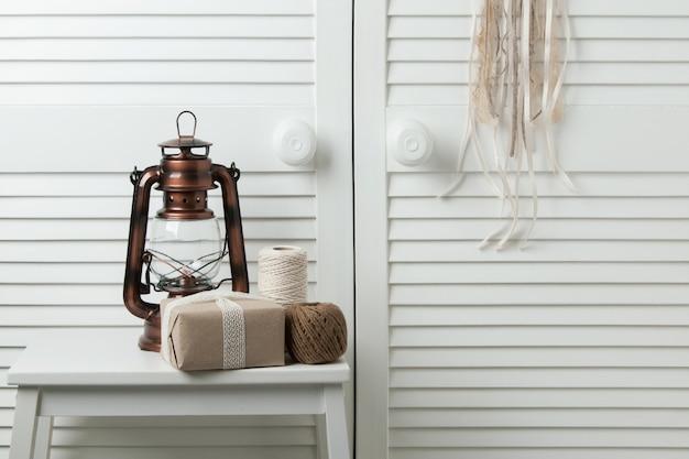 Beige brown bedroom decor