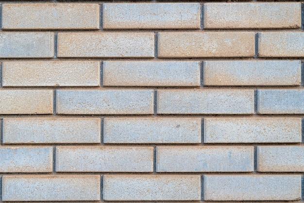 Бежево-коричневая гранж кирпичная стена текстура строительного материала