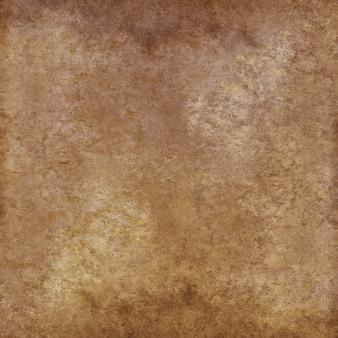 ベージュブラウンイエローヴィンテージグランジ抽象的な背景。水彩の手描きのテクスチャ。