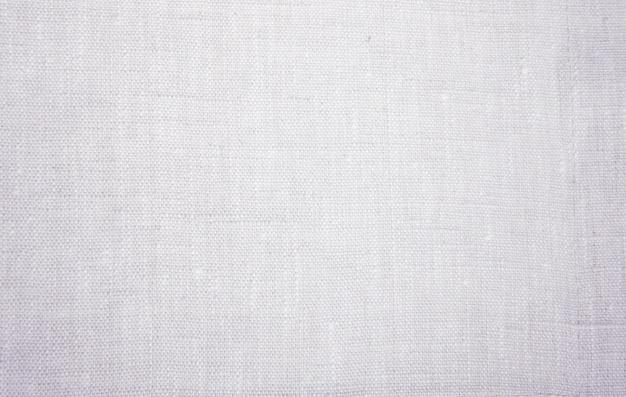 Бежевый холст ткань хлопок, серый гранж фон, льняная ткань