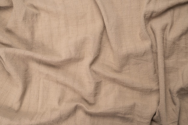 Beige cotton fabric