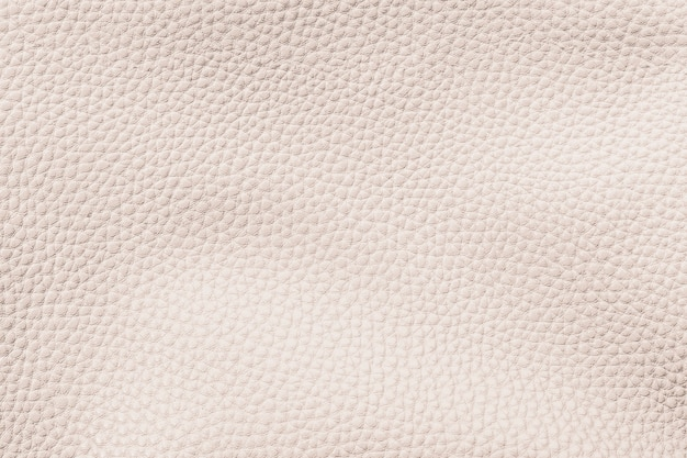 Beige cow leather textured background