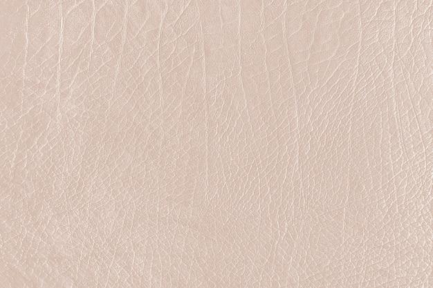 Текстурированная кожа бежевого цвета с мятой