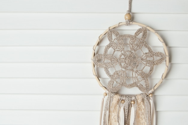 Beige dream catcher