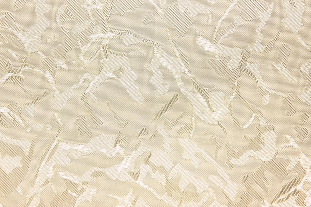 Beige fabric blind curtain texture background can use for backdrop or cover