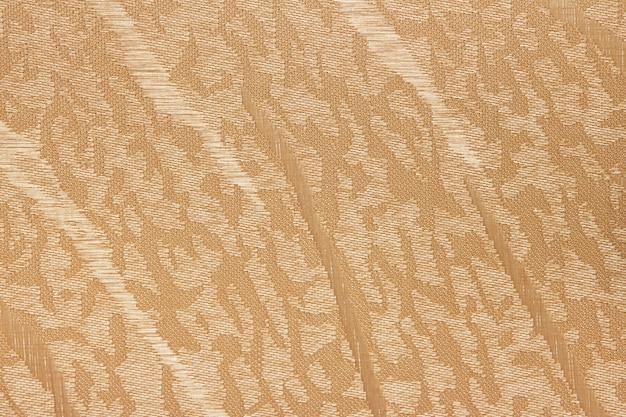 Beige fabric blind curtain texture