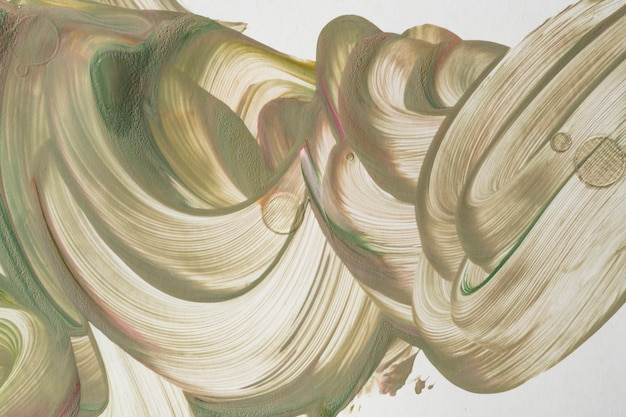 Sfondo di arte fluida beige pittura acrilica fai da te
