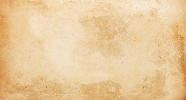 Бежевый гранж-фон, текстура старой бумаги, винтаж, ретро, пятна, царапины