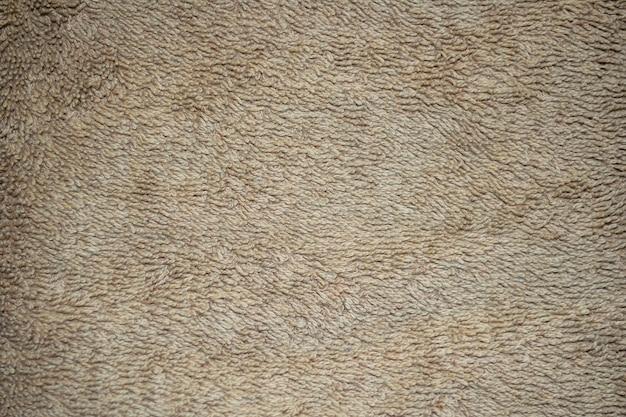 Beige natural cotton towel background texture