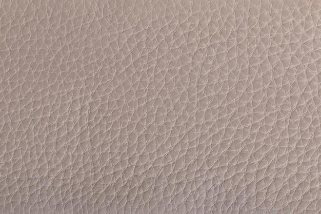 Текстура натуральной кожи бежевого цвета