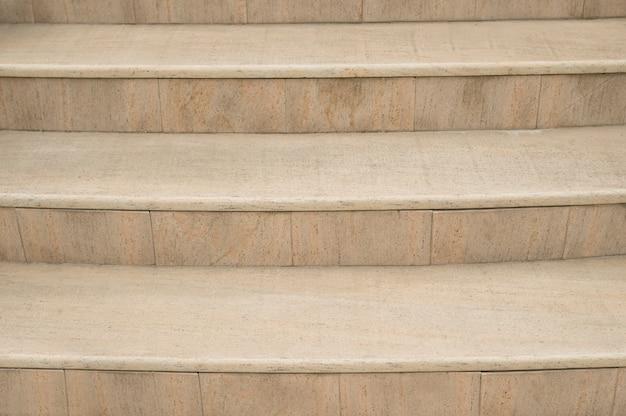 Beige stone stairs background