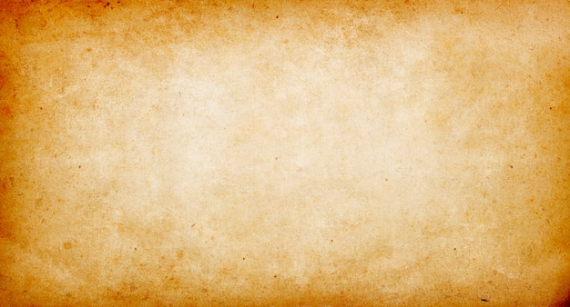 Beige vintage background of old paper, paper texture, spots, roughness, streaks