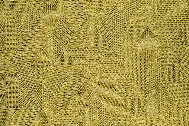 Beige vintage carpet texture with geometric pattern