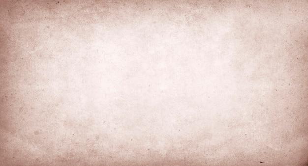 Бежевый старинный старый бумажный фон, грубая изношенная бумага текстуры копией пространства