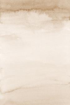 베이지 색 수채화 배경, 세피아 디지털 논문