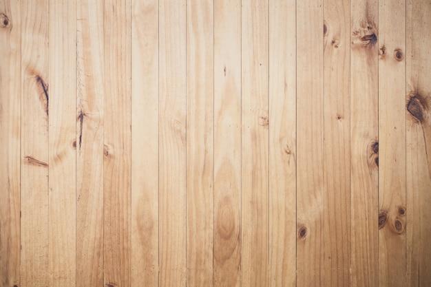 縦縞のベージュの木の床のテクスチャ