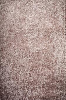 ベージュウールシープスキンテクスチャー表面