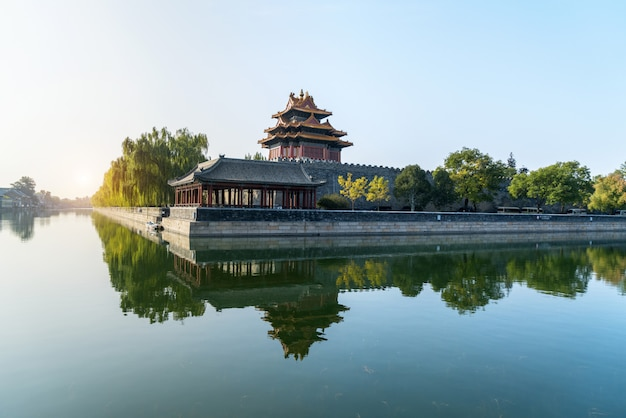 Beijing, china forbidden city