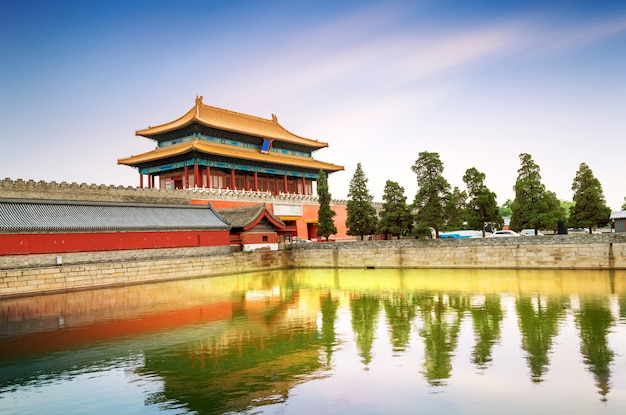 Beijing imperial palace, china