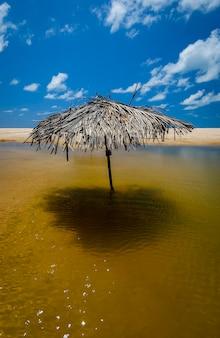 ブラジルのジョアンペソアパライバ北東海岸近くのベラビーチコンデ