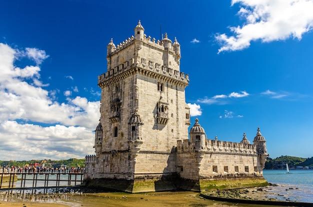 Башня белен в лиссабоне - португалия