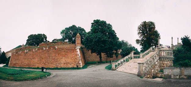 Belgrade fortress in serbia
