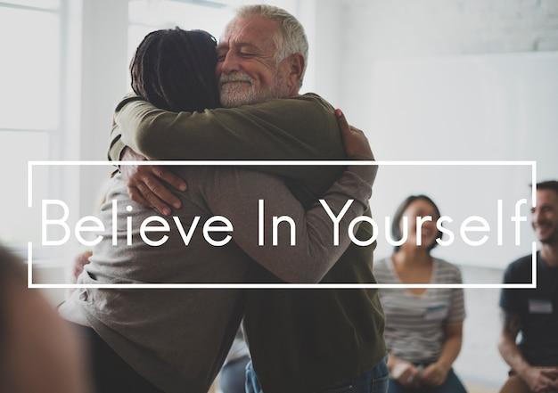 Credere in te stesso è una motivazione.