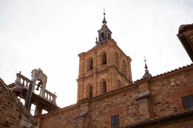 Belltower of the astorga cathedral