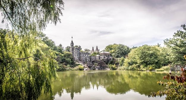 Замок бельведер в нью-йорке
