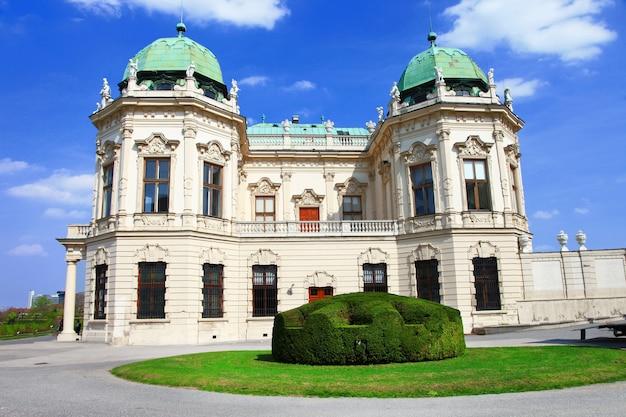 Дворец бельведер в вене, австрия