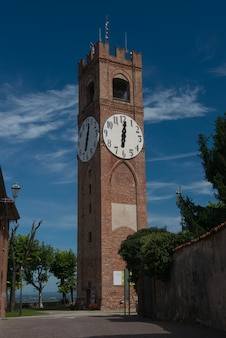Belvedere tower in mondovi