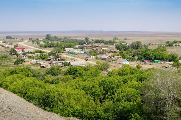 ベリャエフカ村ソリレツキー地区オレンブルク地域ロシアステップ村