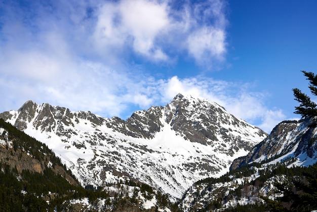 Benasque posets maladeta park of pyrenees spain