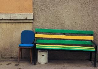 Bench  peacefully