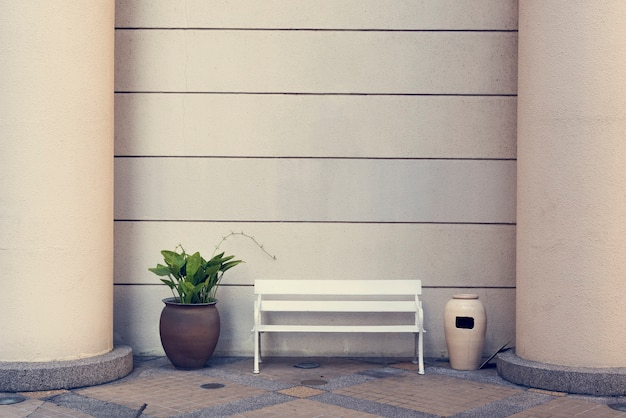 Bench relax casual freedom leisure resting serenity