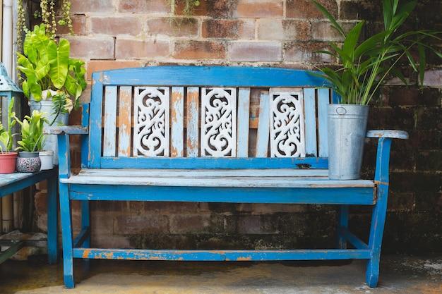 Bench wooden
