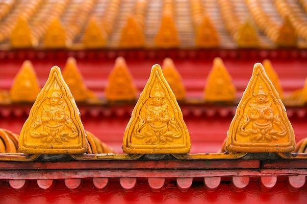 タイ、バンコクの有名な大理石寺院benchamabophit